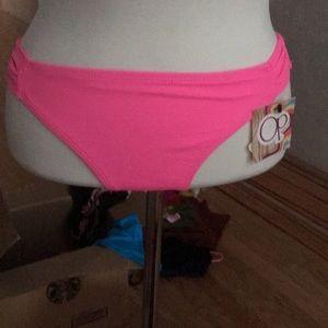 New OP bikini swim suit bottoms size M (7-9)